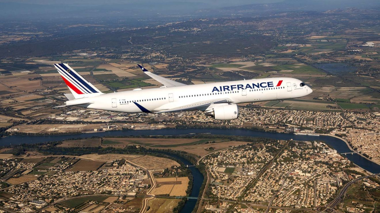 Air France sustituirá sus A340 y A380 con 28 A350.