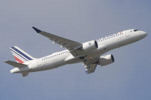 Entre las entregas de Airbus en septiembre estuvo el primer A220 a Air France.