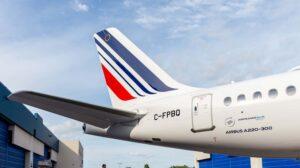 Air France pondrá en servicio en vuelos Europeos su primer Airbus A220 en la segunda mitad del mes de octubre.