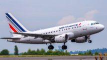 Airbus A318 de Air France con el que retomará los vuelos de Madrid a París Orly.