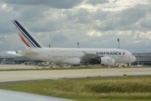 Air France retiró todos sus Airbus A380 denro de sus medidas para recortar gastos por la cáida del tráfico aéreo.