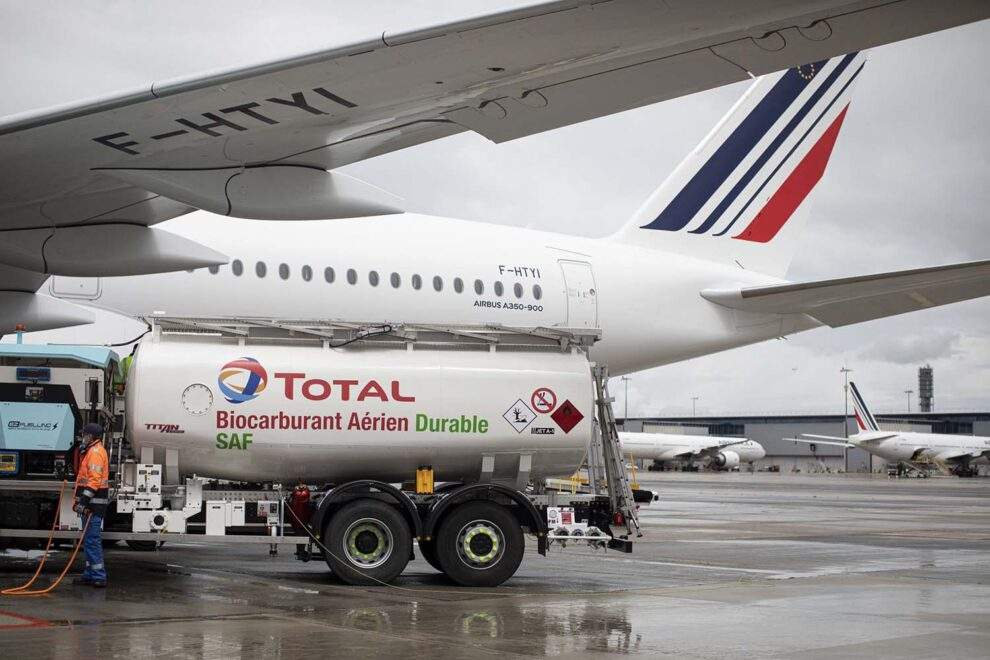 Air France-KLM lleva una década apoyando los biocombustibles y anima a sus socios y clientes a ser más verdes.