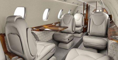 Interior del Legacy 650 D-ANCE.q