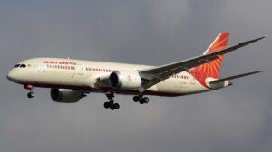 Boeing 787 de Air India.