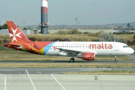 Airbus A320 CEO de Air Malta.