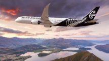 Air New Zealand sustituirá parte de sus B-777 con nuevos Boeing 787-10.