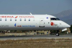 Bombardier CRJ1000 de Air Nostrum.