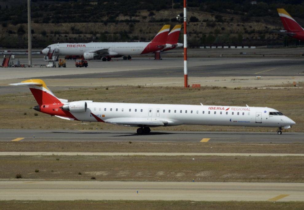 EC-MTZ, el avión que hizo el último vuelo de Air Nostrum por ahora.