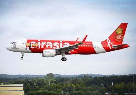 AirAsia, con 197 A320 en servicio es el mayor operador mundial de la versión original del A320.