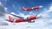 El grupo Air Asia cuenta con aerolíneas en seis países asiáticos. Air Asia X, dedicada al largo radio, tiene su base en Malasia.