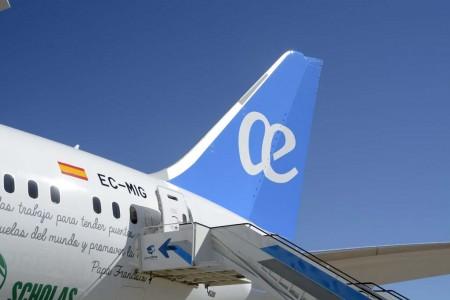 Entre los aviones entregados por Boeing en el primer trimestre de 2016 está el primer Boeing 787 de Air Europa.
