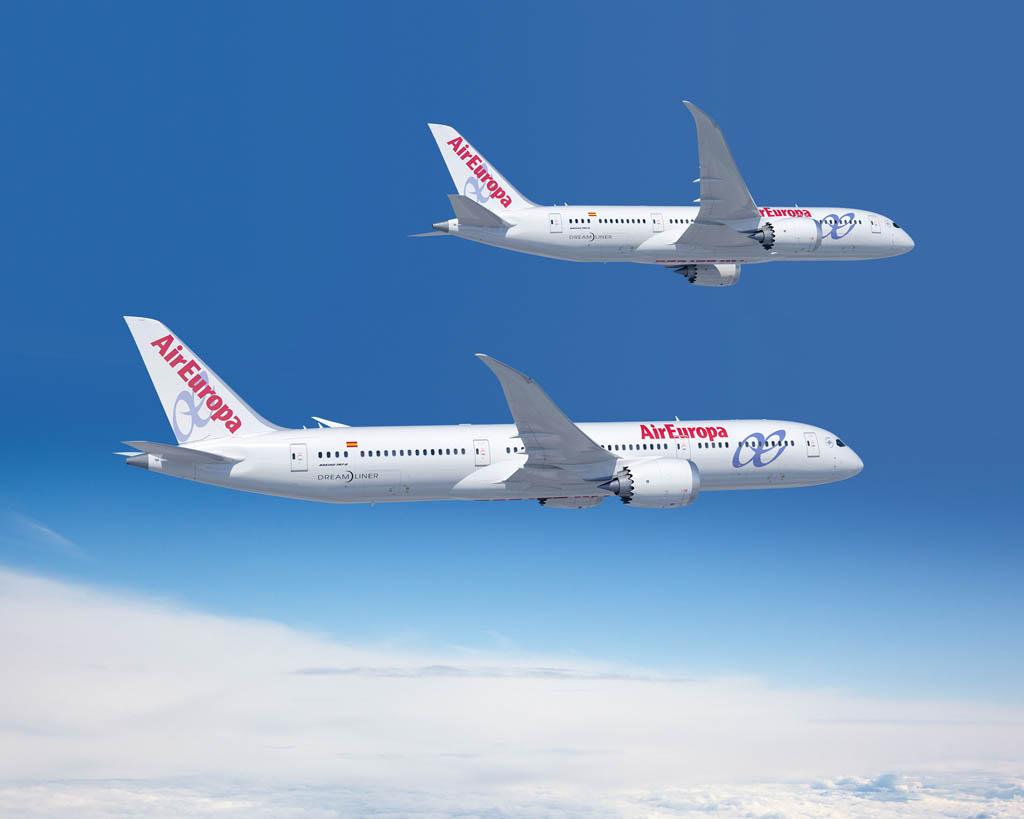 14 boeing 787 9 dreamliner para air europa fly news for Interior 787 air europa