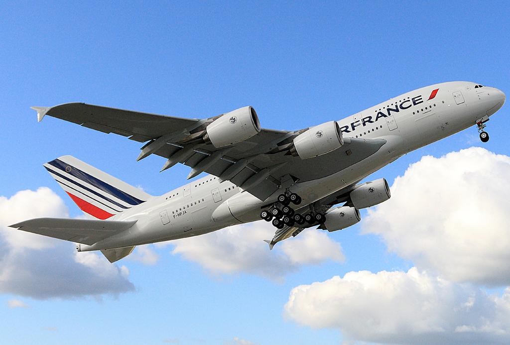 El grupo Air France KLM transportó un 1,8 por ciento más de pasajeros en julio