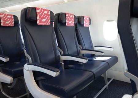 Nuevos asientos de clase turista de Air France para sus Airbus A319 y A320
