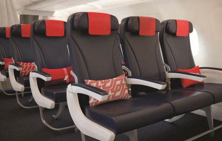 Los nuevos asientos para 49 Airbus A320 y A319 de Air France que ya han comenzado a ser instalados.