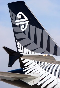Nuevo Airbus A320 de Air New Zealand