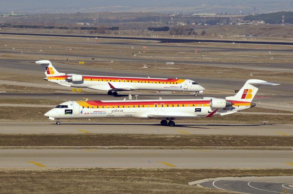 CRJ 900 y CRJ 1000 de Air Nostrum