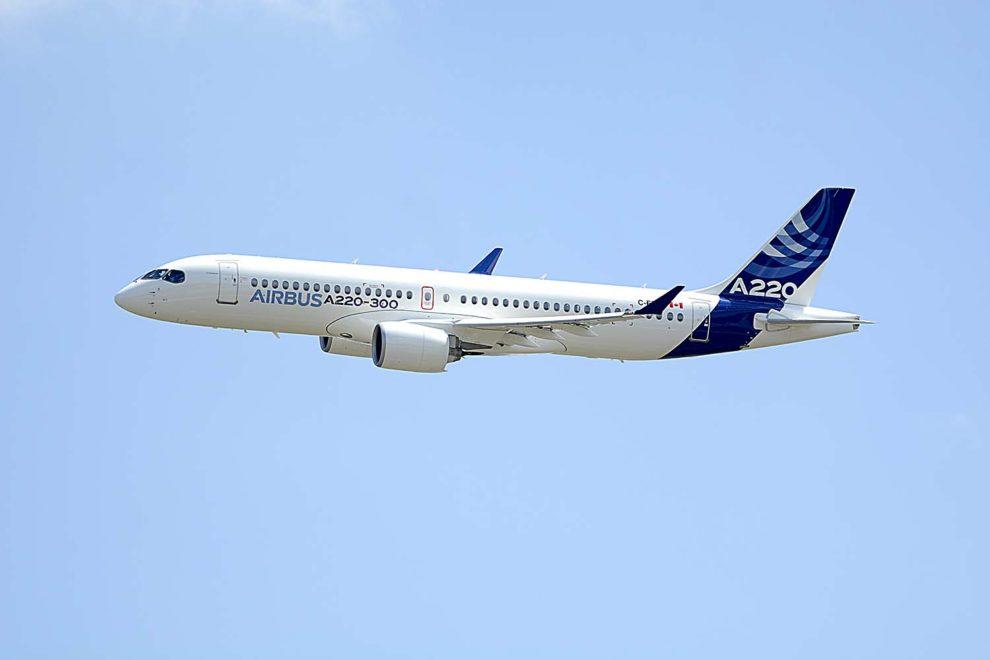 Los 120 A220 para JetBlue y Moxy son los primeros contratos firmados para el modelo desde que Airbus se hizo cargo del programa.