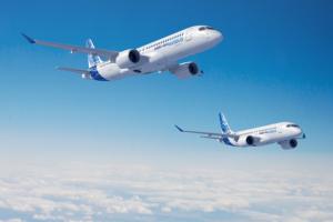 Airbus está haciendo uso de la estructura reforzada diseñada por Bombardier para hacer crecer casi sin cote al A220.