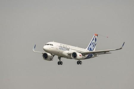 El A319 es el último miembro de la familia A320neo en volar.