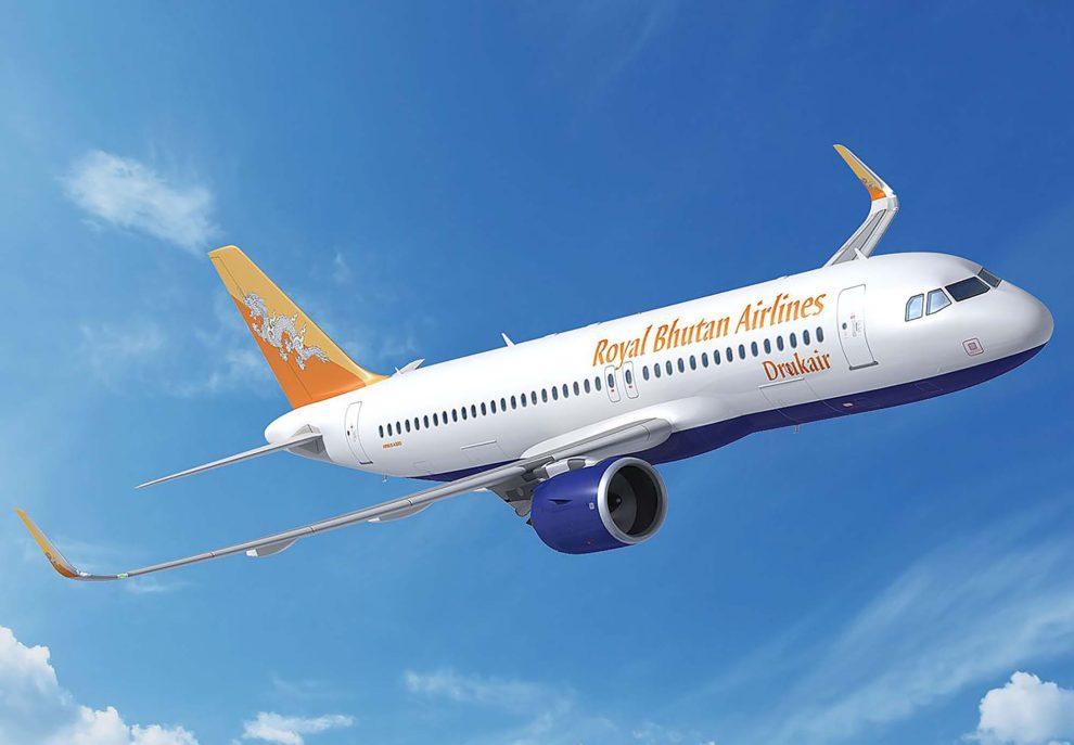 Drukair vuela a India, Tailandia Bangladesh, Nepal, Singapur y Hong Kong. El A320neo permitirá a la aerolínea incrementar su oferta de plazas.