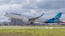 Los nuevois Airbus A321LR de Air Transat sustutuirán a los A310-300 que serán retirados de servicio en abril de 2020.