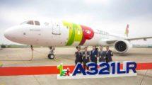 Entrega del primer A321LR de TAP Air Portugal.