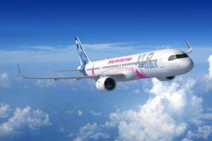 El A321XLR entrará en servicio en 2023. Actualmente se están produciendo los componentes del primero.