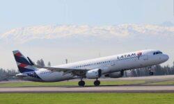 Airbus A321 de LATAM.