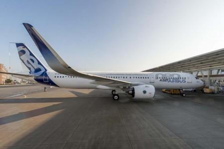 Primer Airbus A321neo con motores Pratt & Whitney PW1100G.