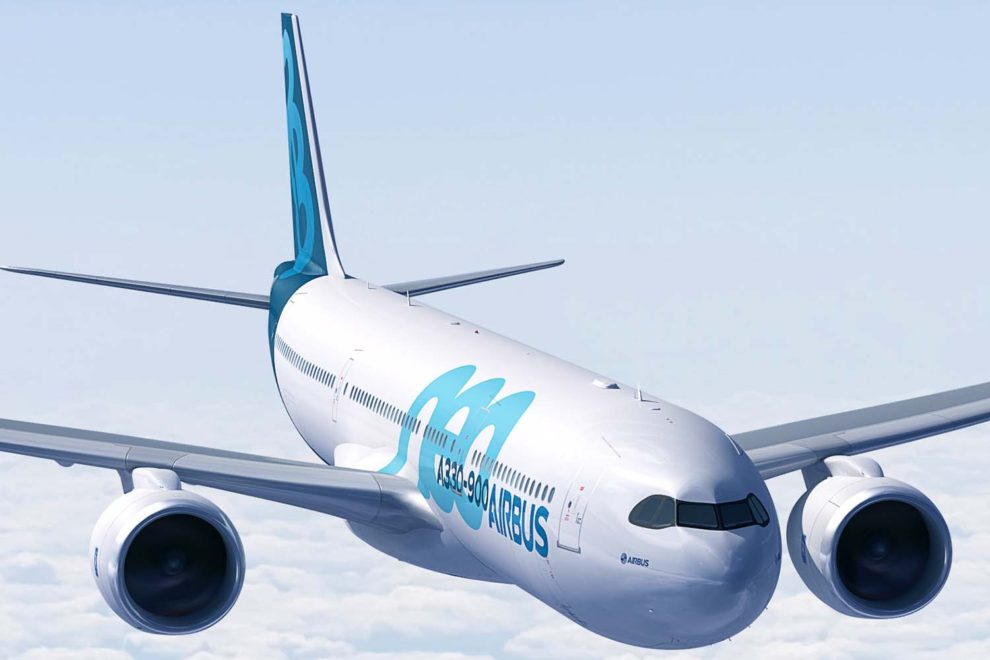 Airbus ofrece la familia A330neo, a la que pertenece el A330-900, con los motores Rolls-Royce Trent 7000.