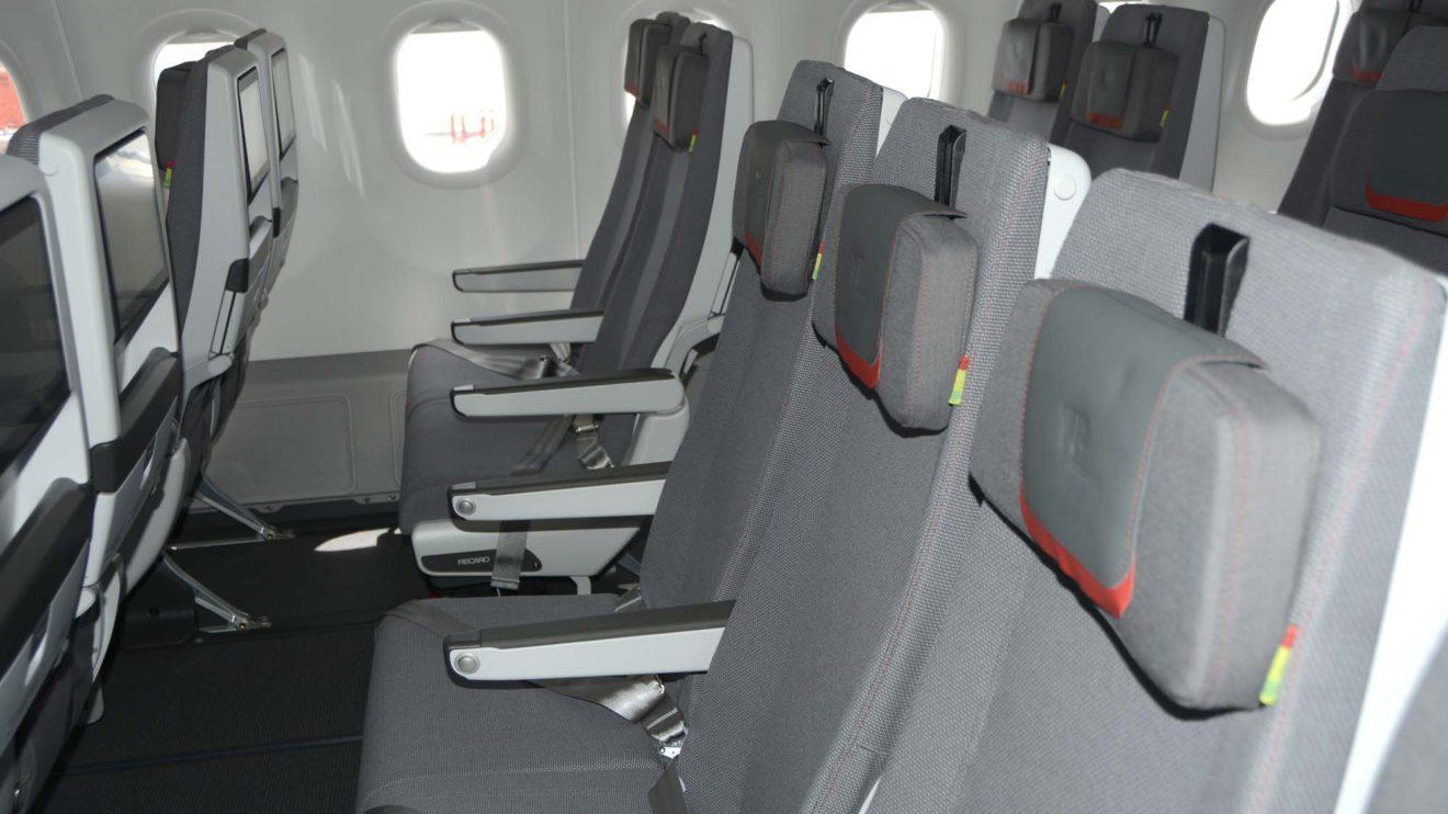 TAP ha apostado por una turista superior con mayor espacio entre asientos pero el mismo servicio que en la turista tradicional.