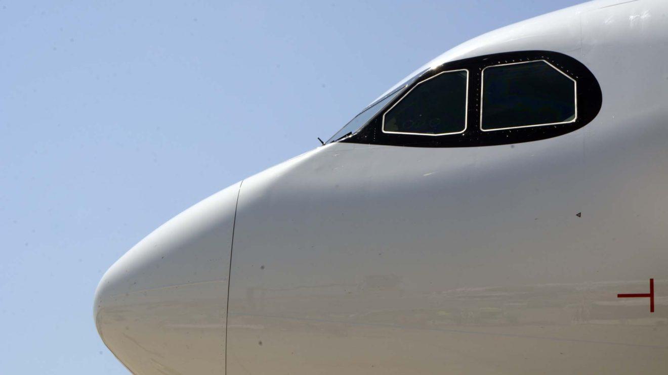 Airbus está incorporando el marco negro del A350 a los aviones A320neo y A330neo.