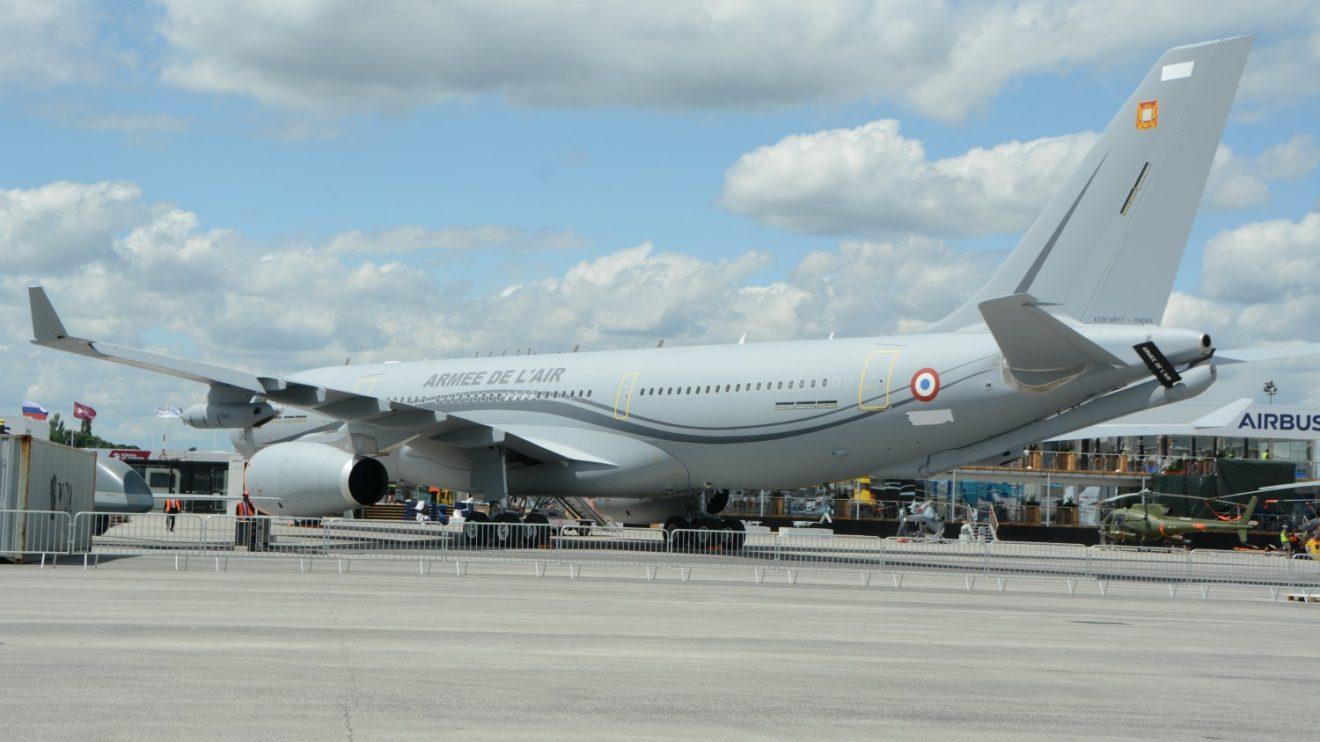 Airbus A330MRTT del Ejército del Aire francés.