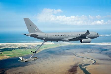 Ilustración del A330MRTT de la nueva fuerza multinacional europea de la OTAN.