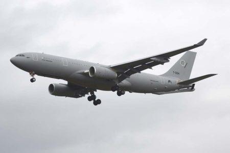 Airbus A330MRTT de la Fuerza Multinacional MRTT