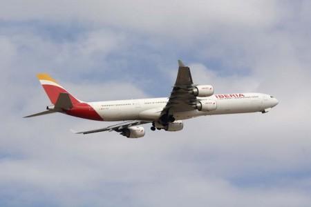 Airbus A340-600 de Iberia.