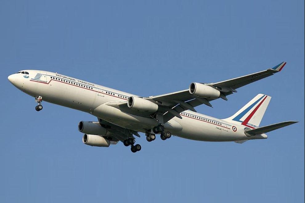 El Airbus A340 F-FAJB, uno de los dos que Francia ha vendido en subasta.