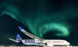 """Aeropuerto de Iqaluit, 63º 45' 14,68"""" Norte, 68º 32' 21,76"""" Oeste, a -34º centrígrados a las 03:56 GMT del 24 de febrero.º"""
