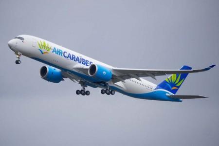 Air Caraibes tiene pedidos seis A350, incluido este que le acaba de ser entregado.