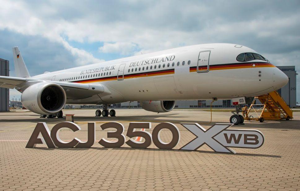 Entre las entregas del primer trimestre de 2021 estuvo este ACJ350 para el Gobierno alemán.