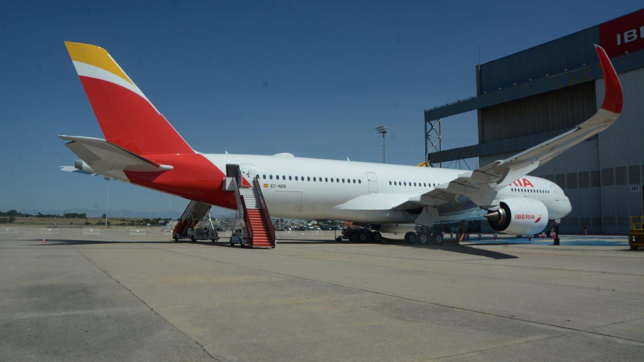 Nueva York (2 vuelos dirios), y Buenos Aires son los destinos que cubre por ahora Iberia con sus A350, a los que sumará Chicago.