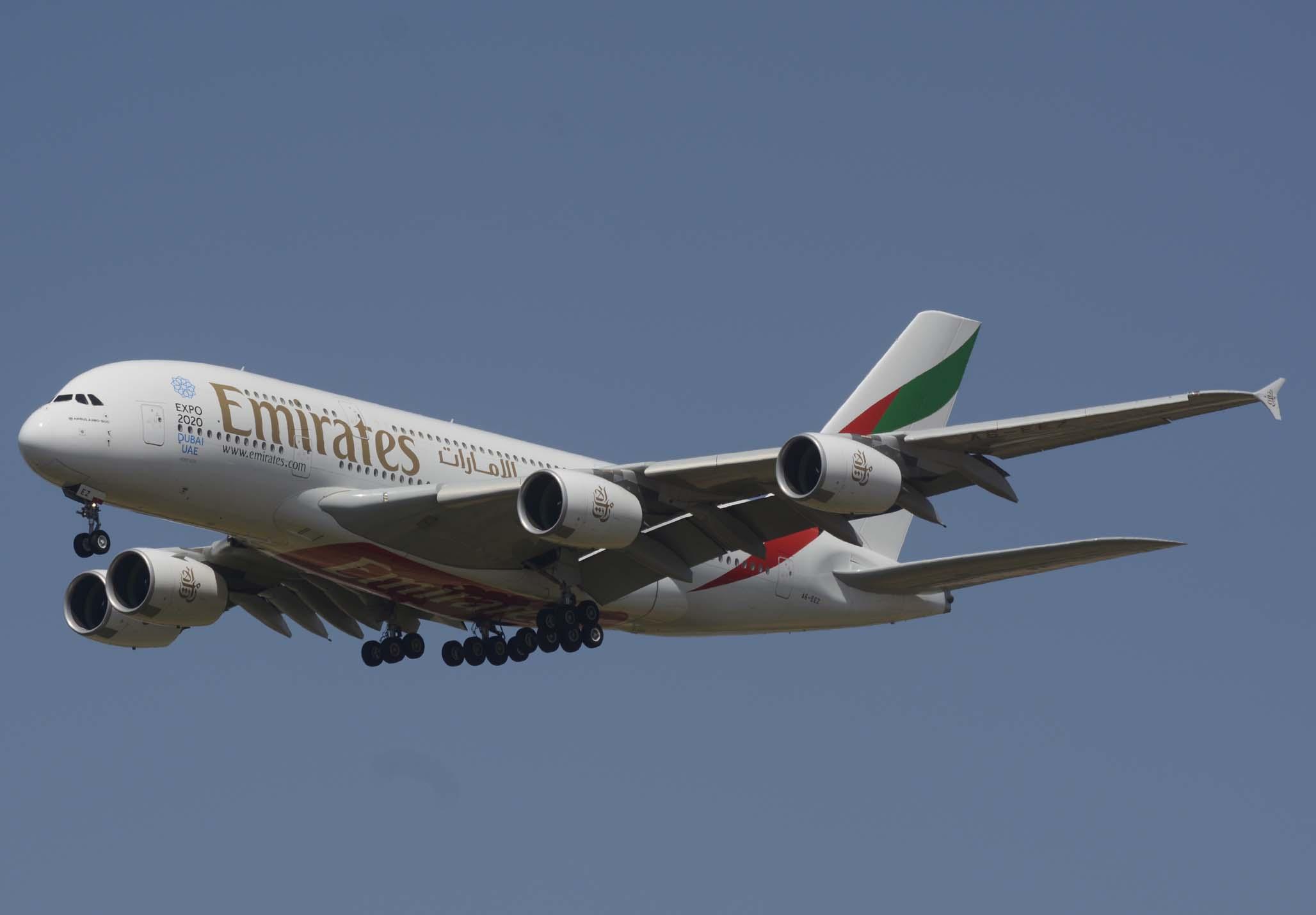 """""""Oficialmente"""" sólo se conoce el precio real de un Airbus A380. Fue entregado a Emirates en 2011."""