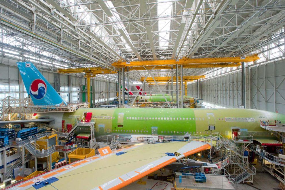 Sección de la factoría Lagardere donde se completaba el montaje de los A380 y se hacían las primeras pruebas funcionales.