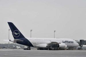 Los 14 Airbus A380 de Lufthansa fueron entregados entre 2010 y 2015.