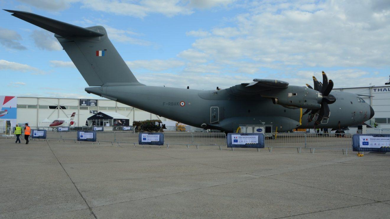 Airbus A400M del Ejército del Aire francés.