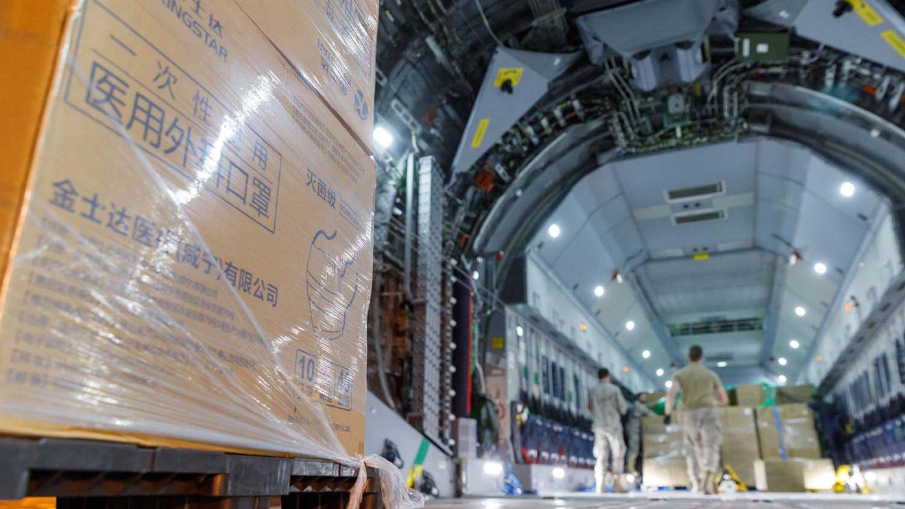 En los próximos días Airbus podrá transportar más mascarillas desde Toulouse a España.