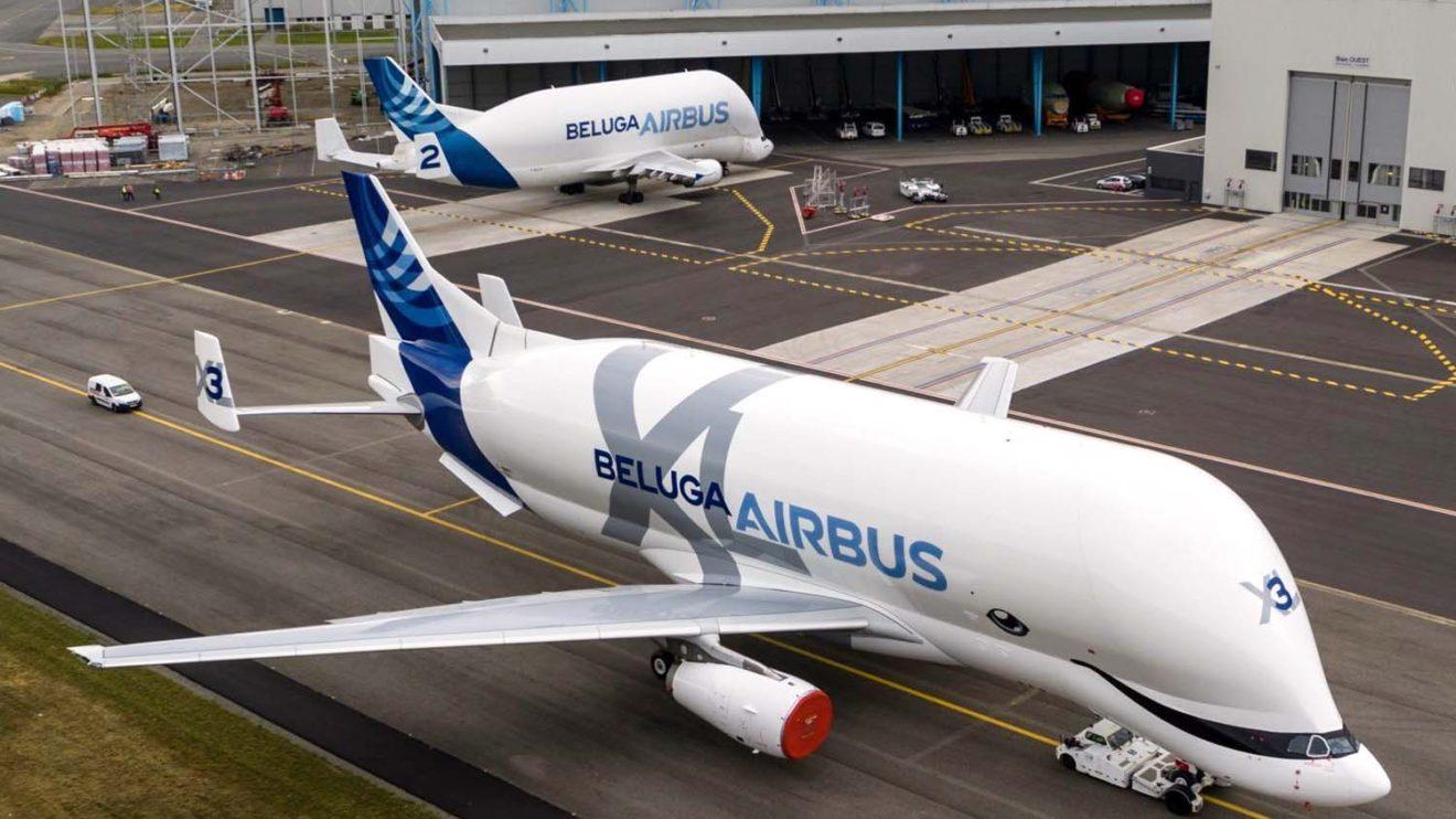 El Beluga XL se modifica a partir de una célula de A330 que combina el fuselaje delantero de la serie 200 y el trasero de la 300.