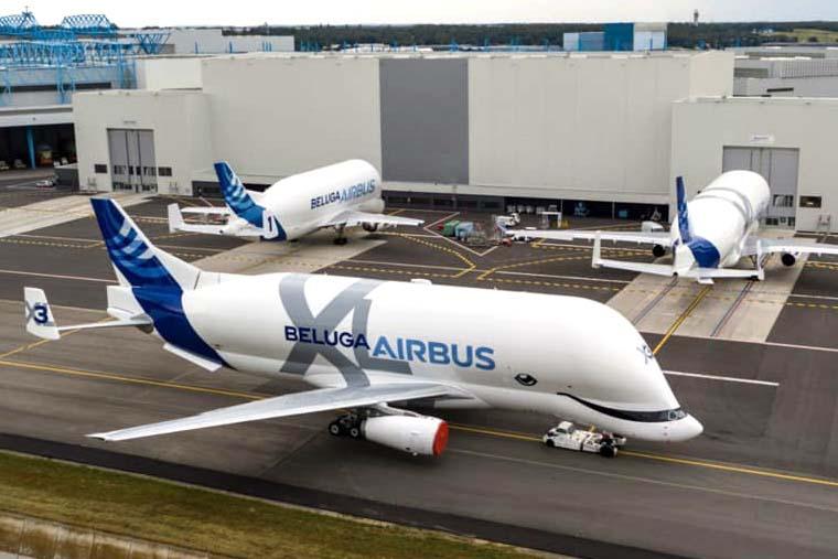 Además de los componentes fabricados por Airbus en España para todos los A330, la sección cónica final del fuselaje (desde la X hacia atrás) es responsabilidad de Aernnova.