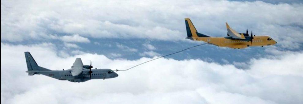 Resultado de imagen para El C295 realiza los primeras pruebas como avión cisterna